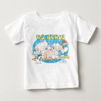 La chemise de bébé de groupe d'acres des t-shirt pour bébé