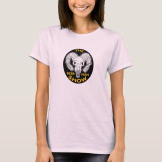 La chemise de crâne de chèvre de dames t-shirt