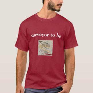 La chemise de l'arpenteur pour les hommes - cru t-shirt