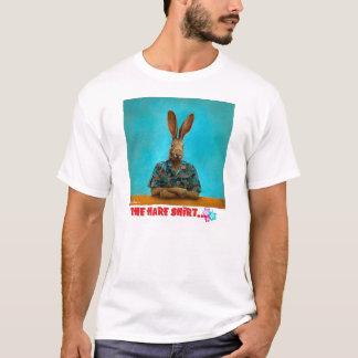 """""""La chemise de lièvres…"""" par des Bullas de volonté T-shirt"""