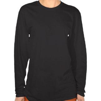 La chemise de Long-Douille de dames de visage T-shirt
