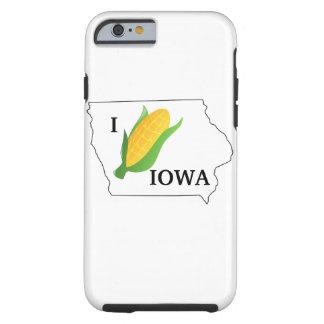 La chemise de maïs de l'Iowa bébête tournent du Coque iPhone 6 Tough