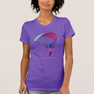 La chemise des femmes de lutin de parapentisme t-shirt