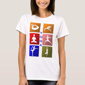 La chemise des femmes de yoga t-shirt