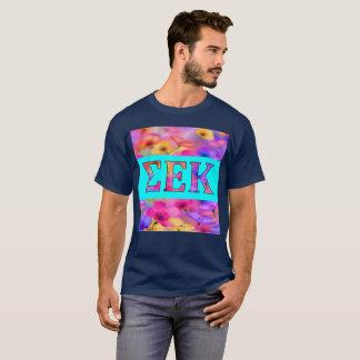 La chemise des hommes d'amour de fleur de SEK T-shirt
