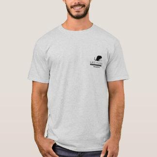La chemise des hommes de logo de délivrance de t-shirt