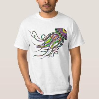 La chemise des hommes électriques de méduses t-shirt