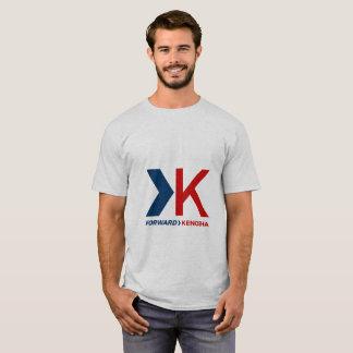 La chemise des hommes en avant de Kenosha T-shirt