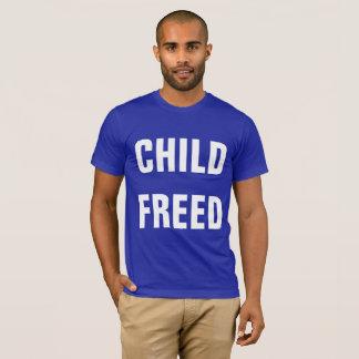La chemise des hommes LIBRES PAR ENFANT T-shirt