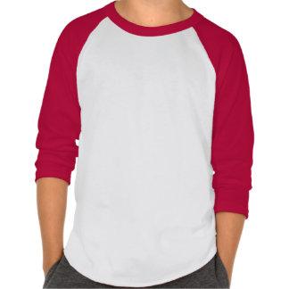 La chemise du base-ball des enfants de flamme t-shirts