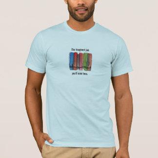 La chemise du travail la plus dure de corps de t-shirt