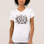 La chemise légère des femmes roses de Tudor T-shirt