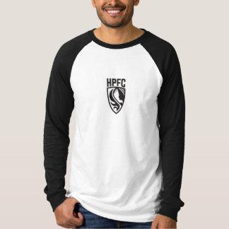 La chemise longs de douille des hommes noirs et t-shirt