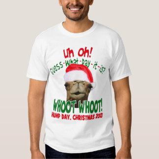 La chemise originale de Père Noël de chameau de T-shirt