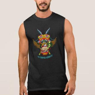La chemise sans manche Superbe-Kumite de gars dur T-shirt Sans Manches