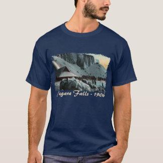 La chemise vintage des hommes de glace de chutes t-shirt