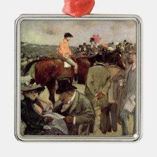La Cheval-Course, c.1890 Ornement Carré Argenté