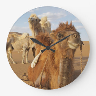 La Chine, Inner Mongolia, désert 2 de Badain Jaran Grande Horloge Ronde