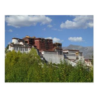 La Chine, Thibet, Lhasa, le Palais du Potala 3 Cartes Postales