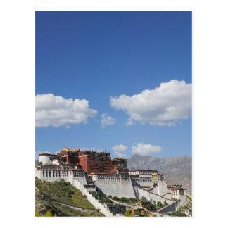 La Chine, Thibet, Lhasa, le Palais du Potala Carte Postale