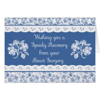 La chirurgie cardiaque obtiennent la carte florale