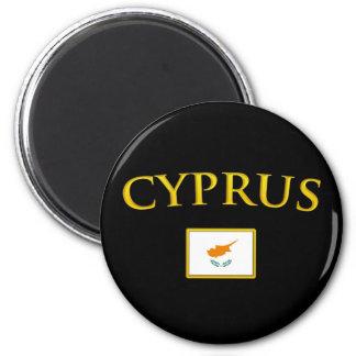La Chypre d'or Magnet Rond 8 Cm