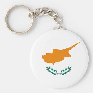 la Chypre Porte-clé Rond