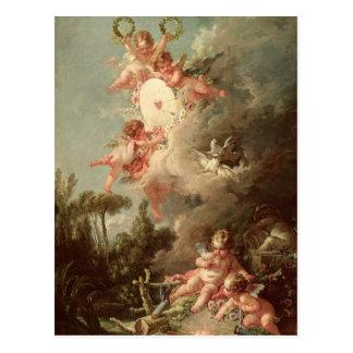 La cible du cupidon, 'de DES Dieux d'intrigues Cartes Postales