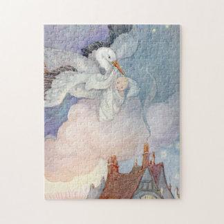 La cigogne par Anne Anderson Puzzle