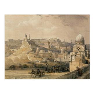 """La citadelle du Caire, de """"Egypte et Nubia """" Cartes Postales"""
