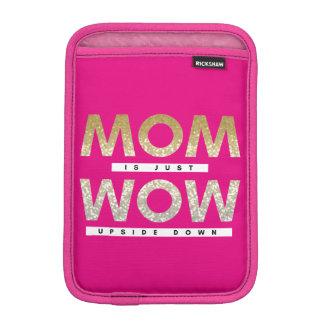 La citation scintillante fraîche de mère est juste housse pour iPad mini