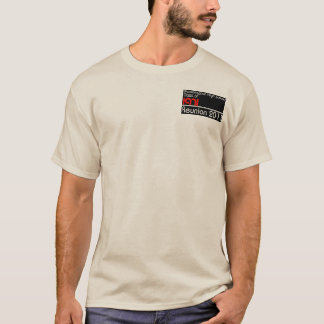 La classe naturelle des hommes de 1971 chemises à t-shirt