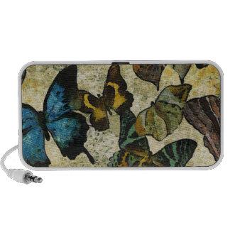 La collection de papillon mini haut-parleurs