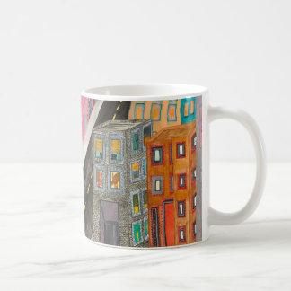 la collection de tasse de café de ville
