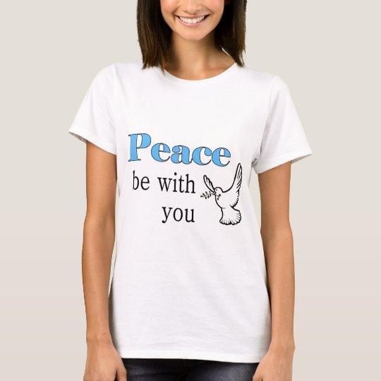La colombe de paix, paix soit avec vous t-shirt