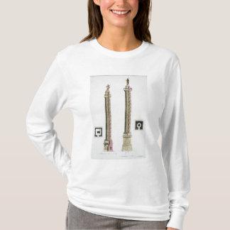 La colonne de Trajan, Rome, de 'Le Costume Ancien T-shirt