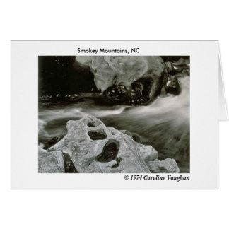 la comète bascule 74, montagnes de Smokey, NC, Ca Cartes De Vœux