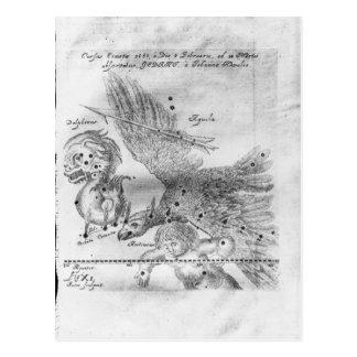 La comète découverte et observée par Johannes Carte Postale