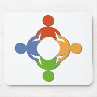 La Communauté des personnes en cercle Tapis De Souris