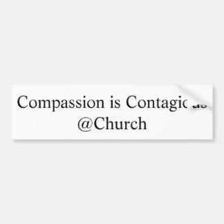 """La """"compassion est autocollant de @Church"""
