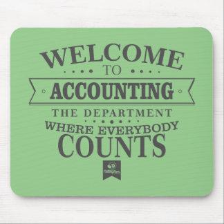 La comptabilité est où tout le monde compte ! tapis de souris