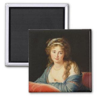 La comtesse Catherine Vassilievna Skavronskaia Magnet Carré