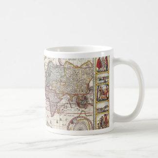 La conception antique vintage de carte de Vieux Mo Mugs À Café