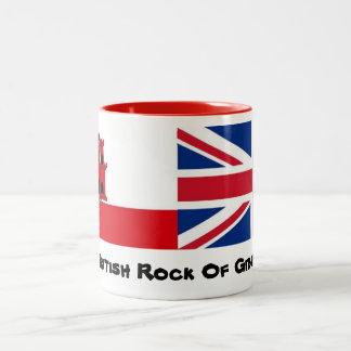 La conception britannique de tasse de rocher de