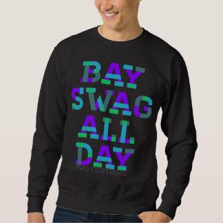 La conception de butin de baie sweatshirt