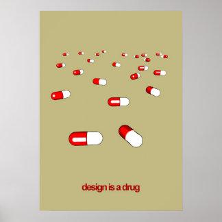 la conception est une drogue poster