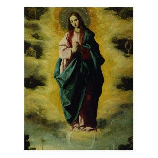 La conception impeccable, c.1630-35 cartes postales