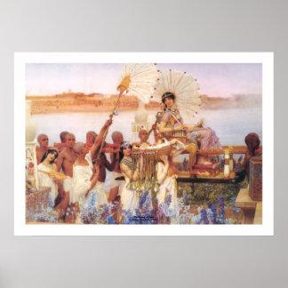 La conclusion de Moïse, monsieur Lawrence Alma-Tad Posters