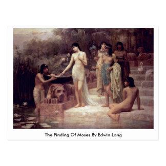 La conclusion de Moïse par Edwin long Carte Postale
