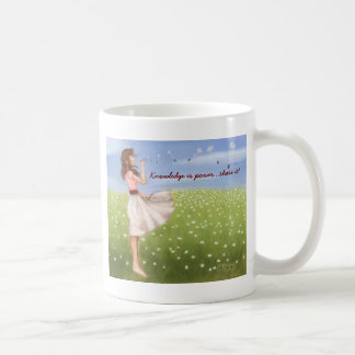 La connaissance est part de puissance… il ! mug